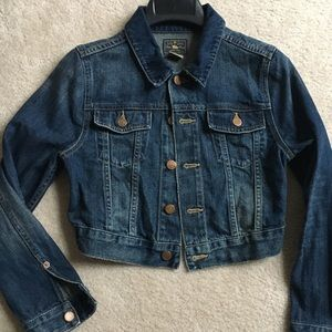 Girls Polo Ralph Lauren Denim Jacket (Crop) Sz 12